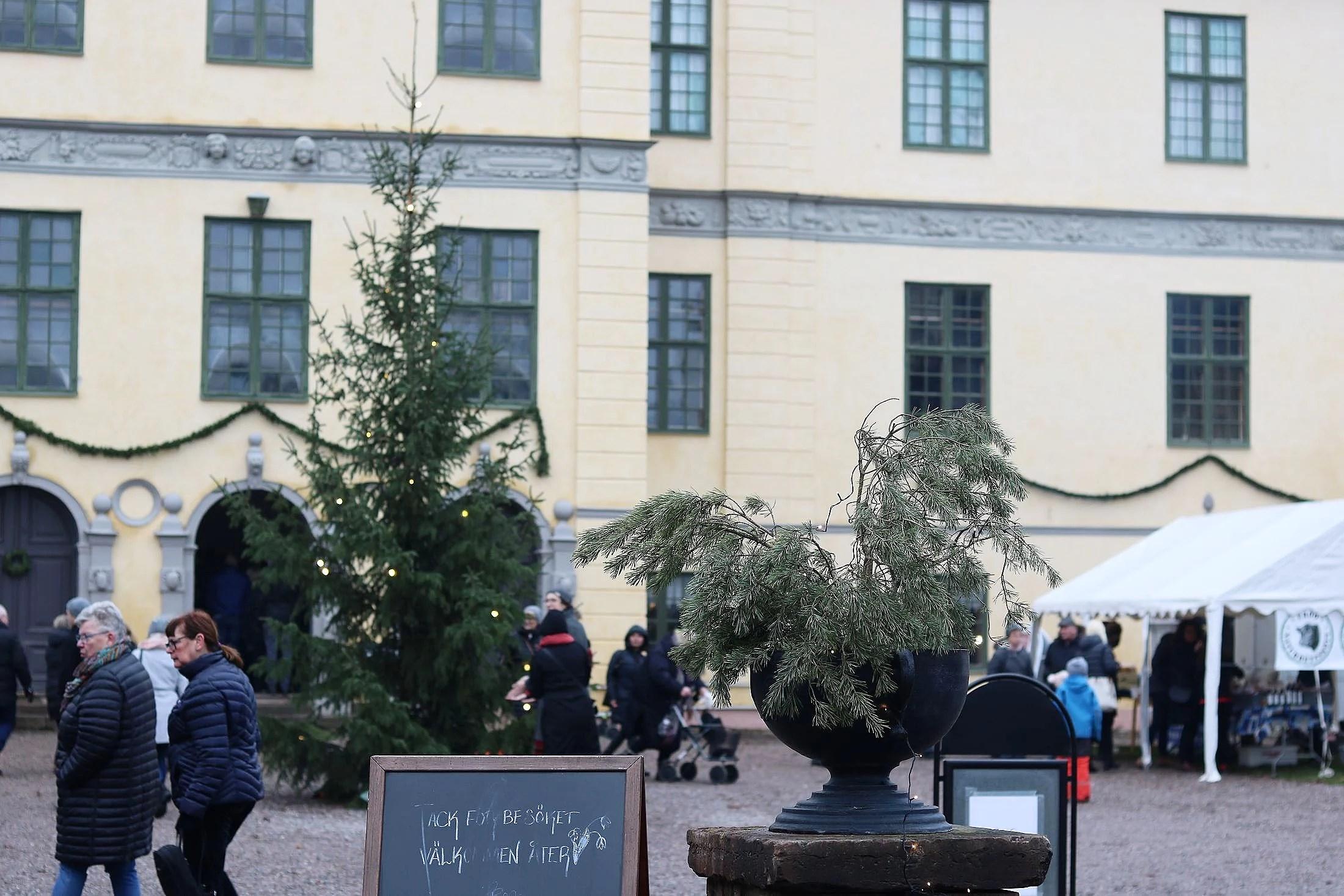 Jul på Löfstad slott