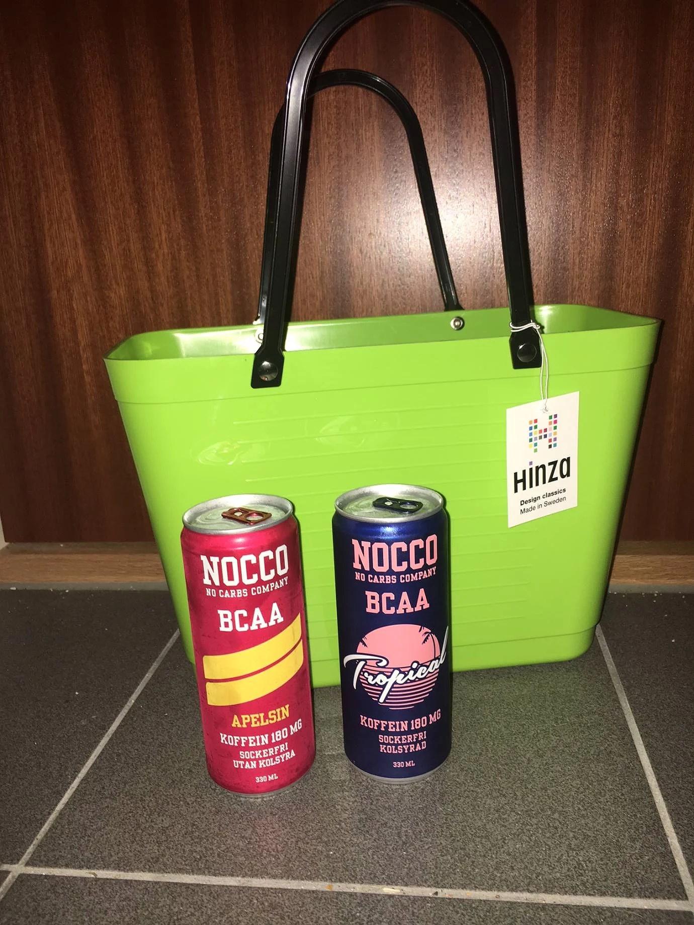Goodiebag - Hinza och Nocco