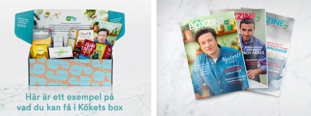 [kökstillbehör] i en box