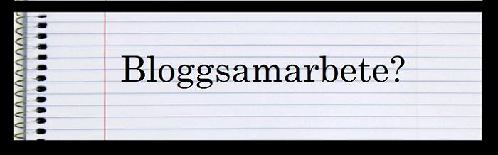 [viktigheter] för blogg-samarbete