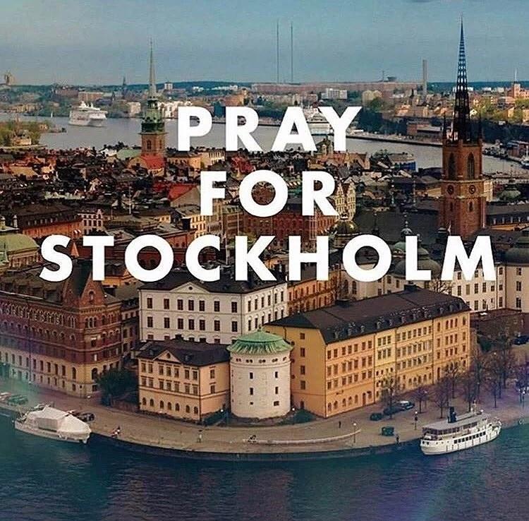 STOCKHOLM 7 APRIL