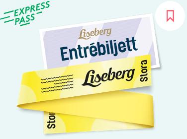 Rabatter på inträde och åkpass Liseberg