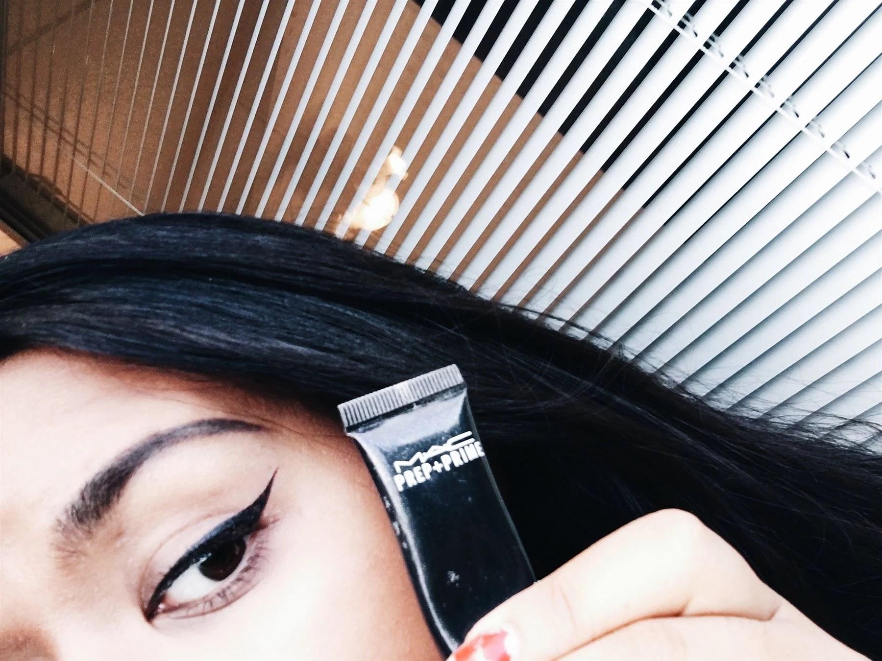 MAC Prep+Prime = Eyeliner magic