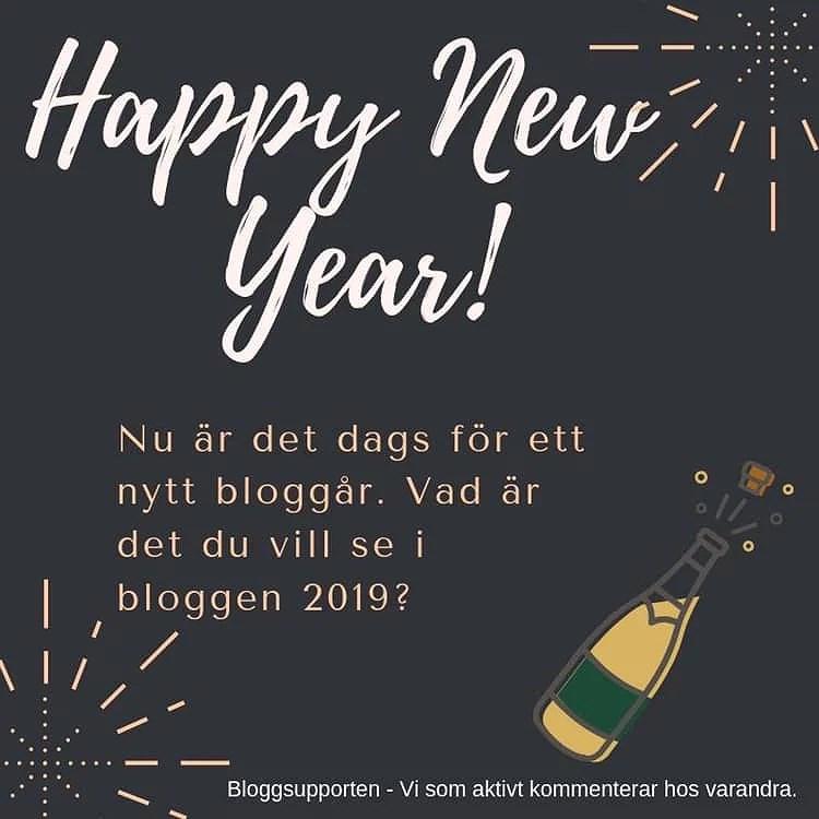 Nyårslöfte med bloggen!