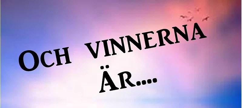 Veckans blogg vinnare...
