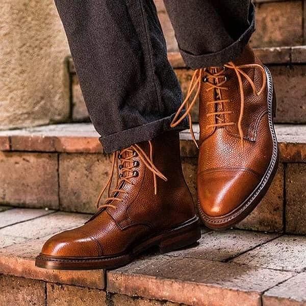 Hållbart manligt mode: Del ett- skor