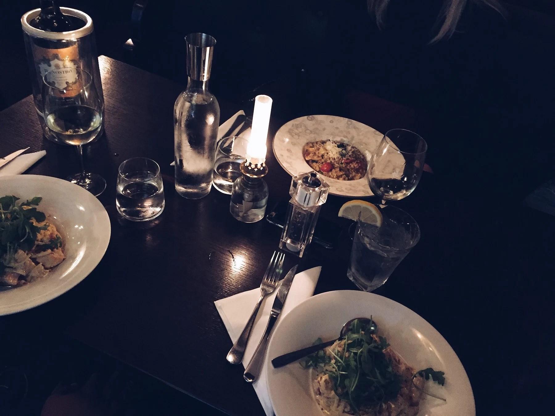 Restaurang + Tempel