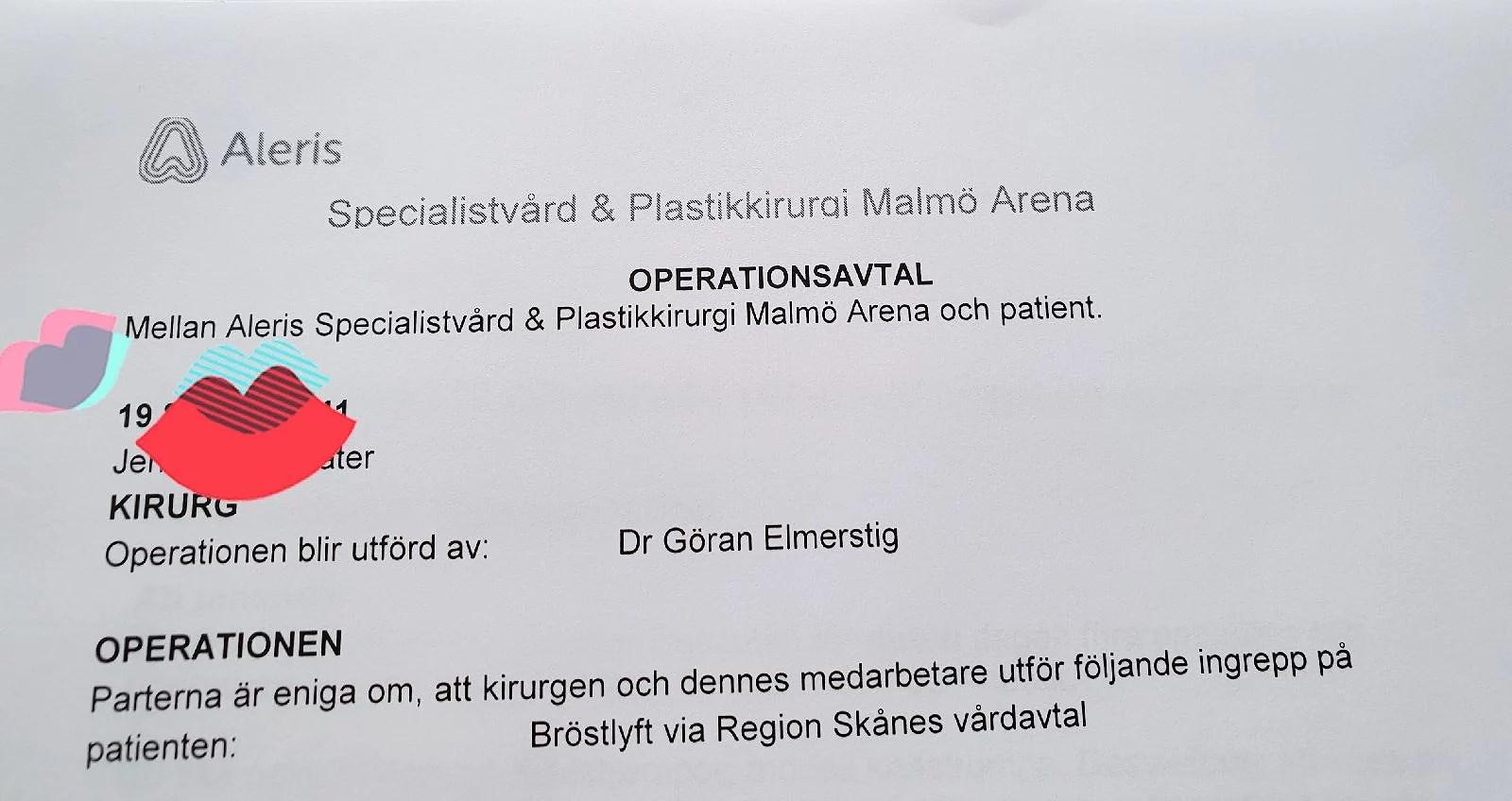 Operationsavtalet..