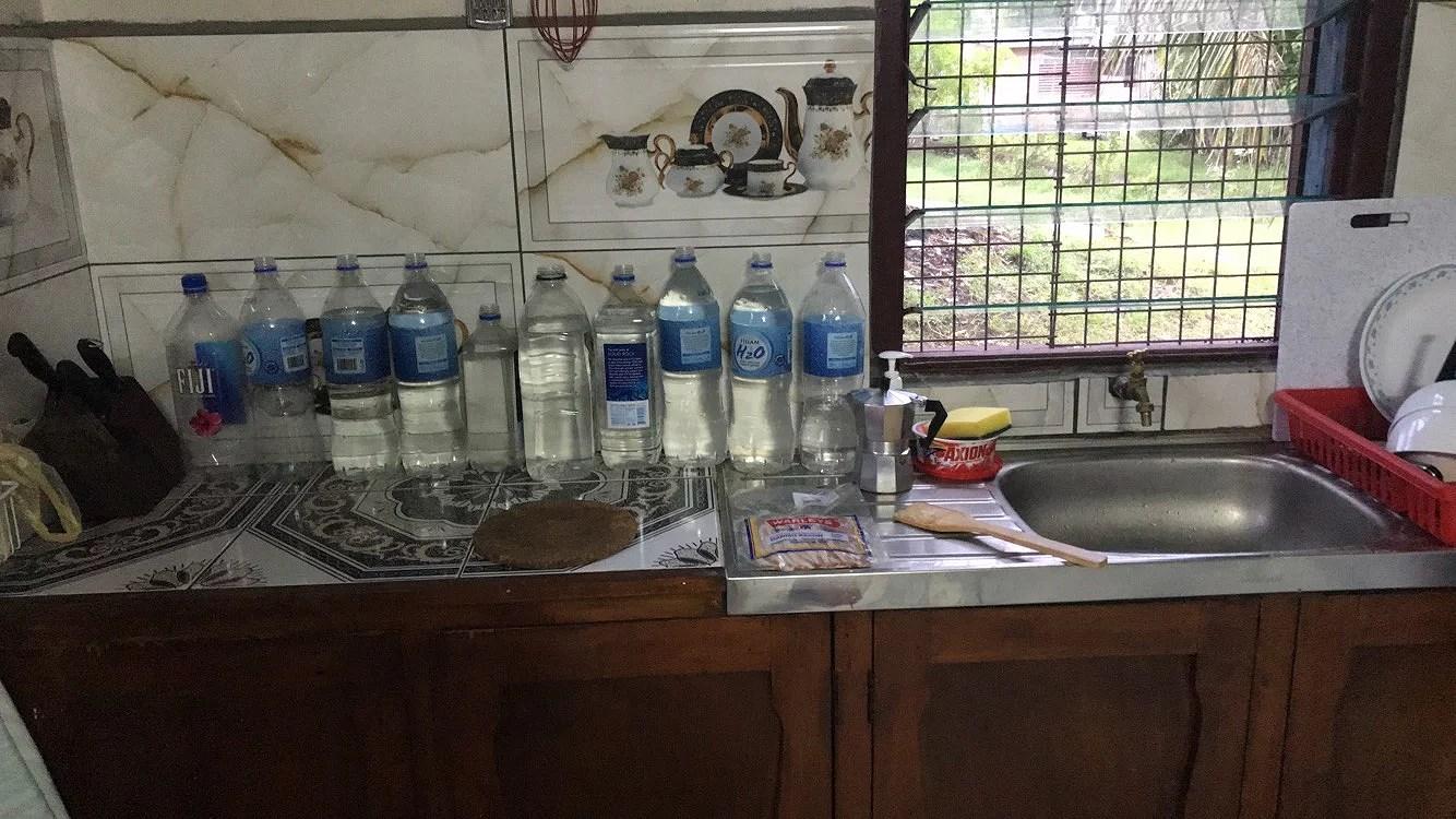 Inget vatten IGEN.
