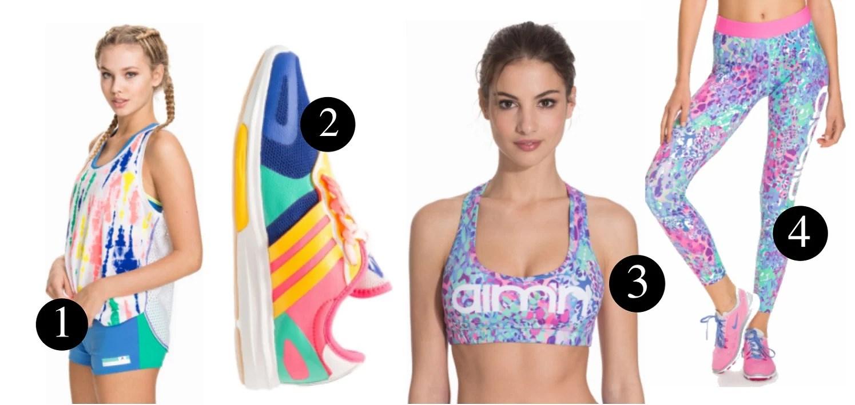 Matchande träningskläder