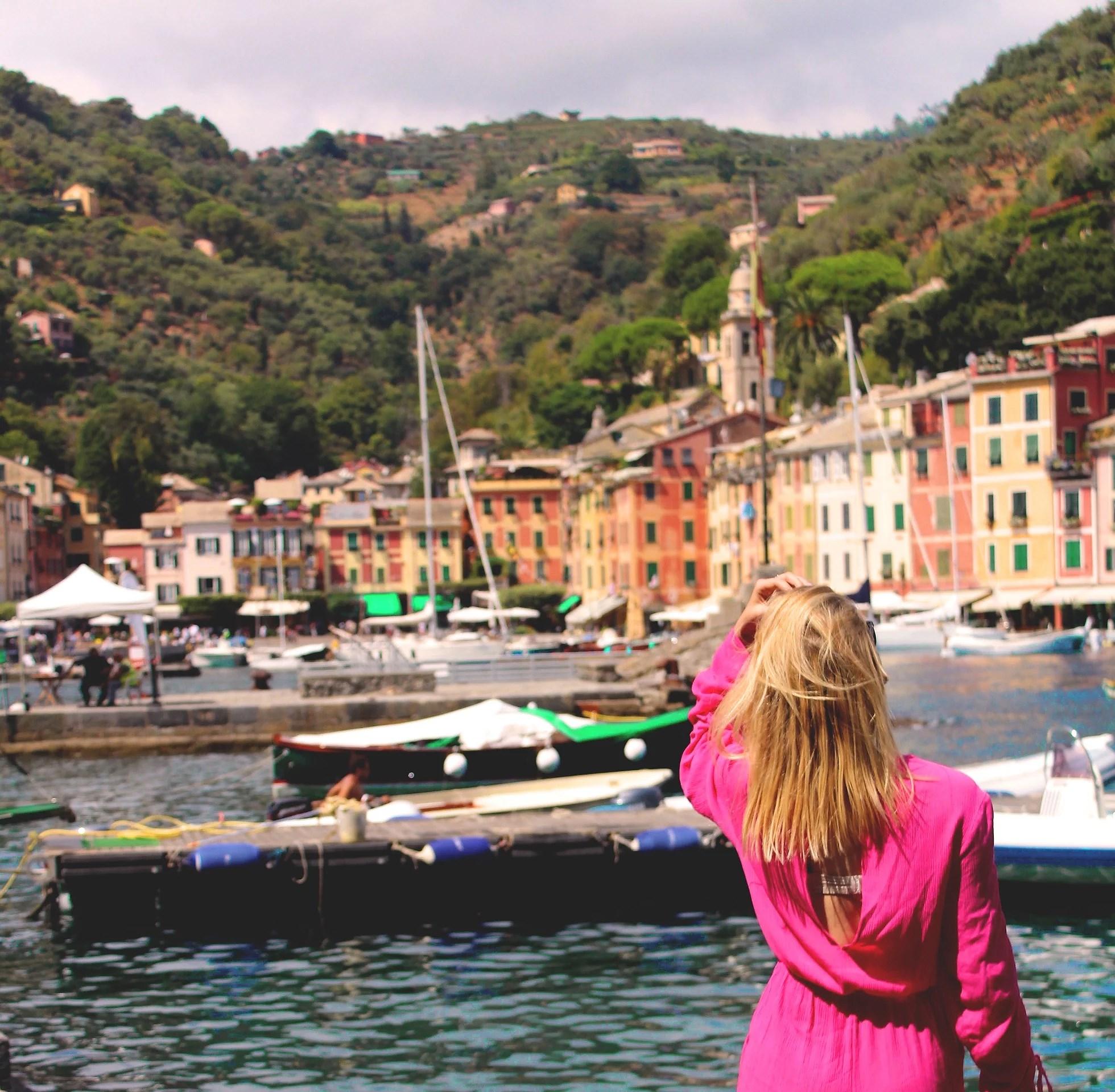 Portofino postcards!