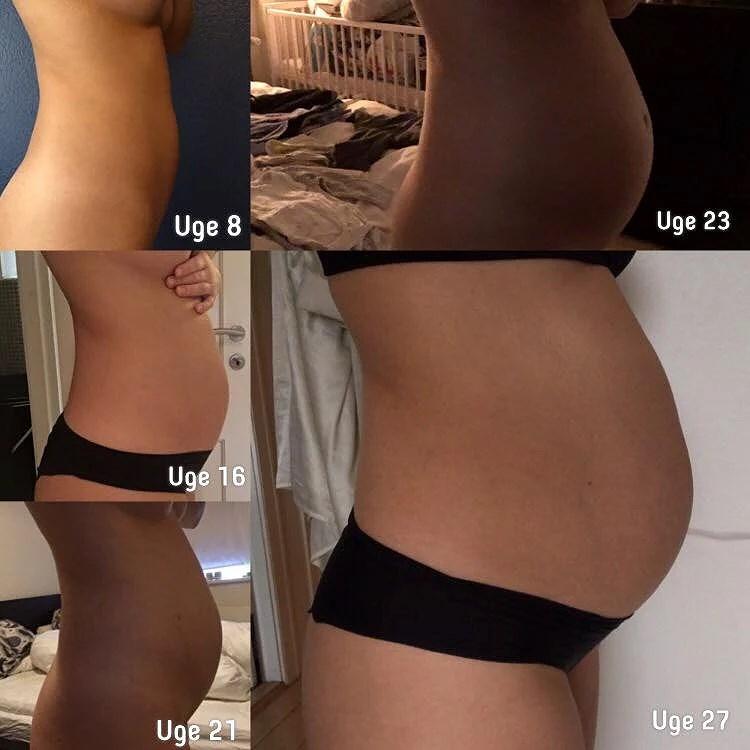 8 gravid mave uge Gravid uge