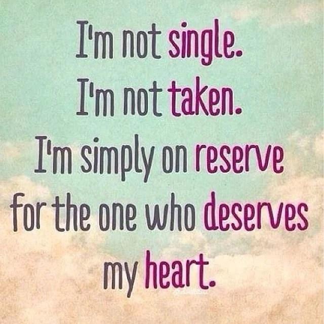 Fördelar med att vara singel...