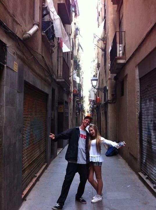 Barcelona & världens bäste brur