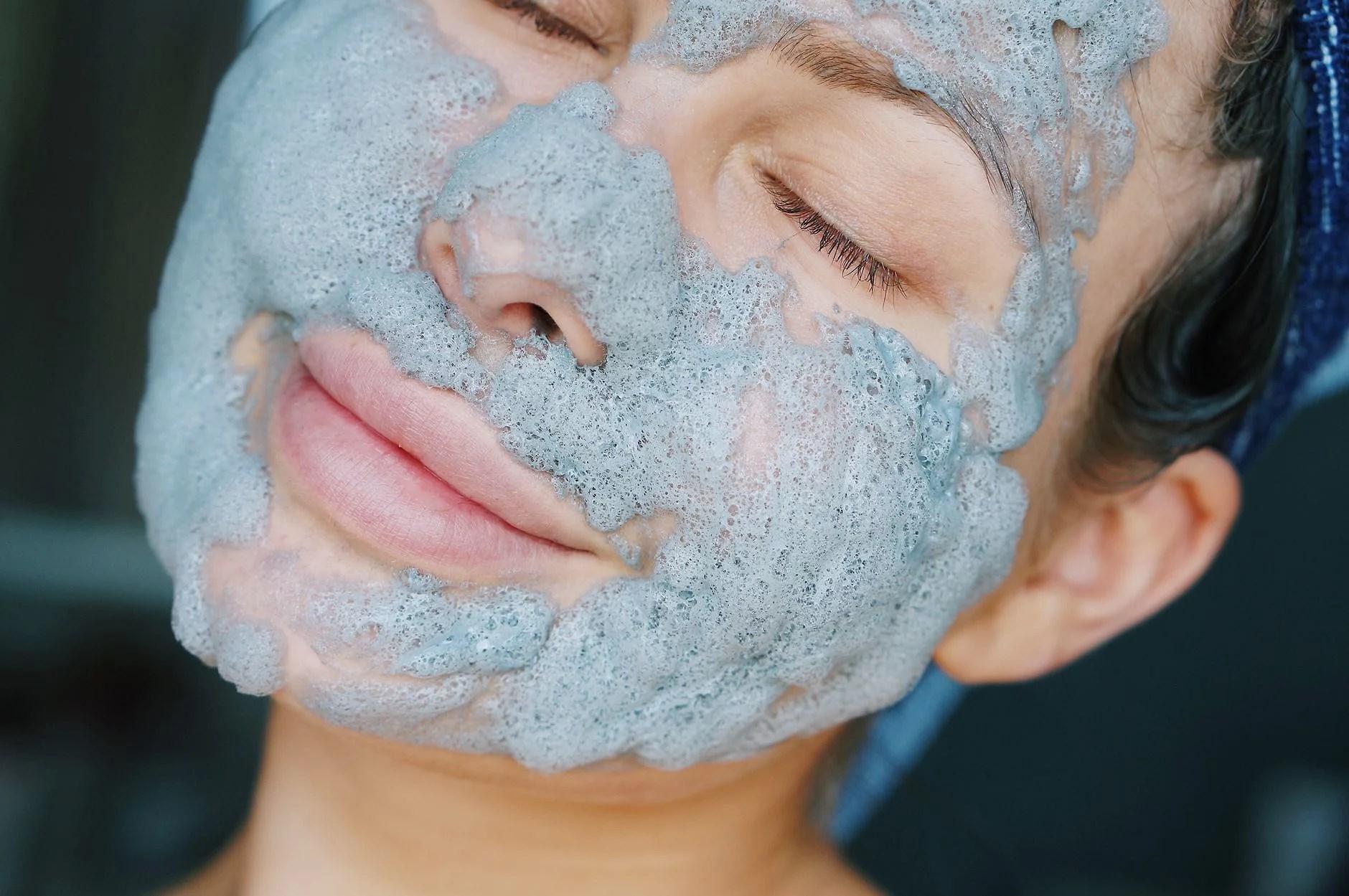 #ikkesponset - herlig maske for huden!