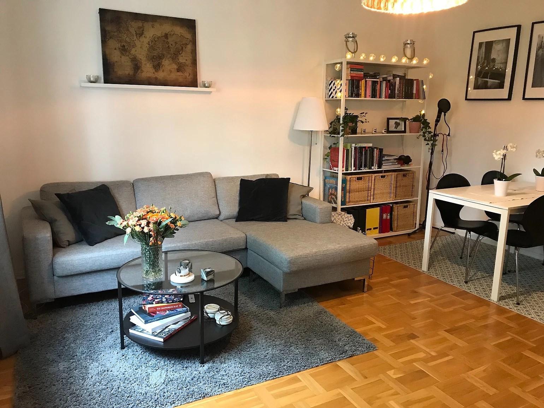 Vår lägenhet på Kungsholmen