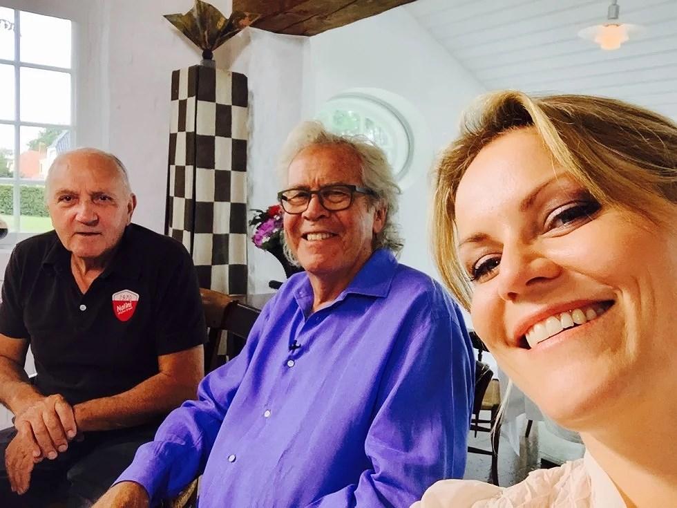 i Fantastisk selskab med Ole Ritter og Jørgen Leth