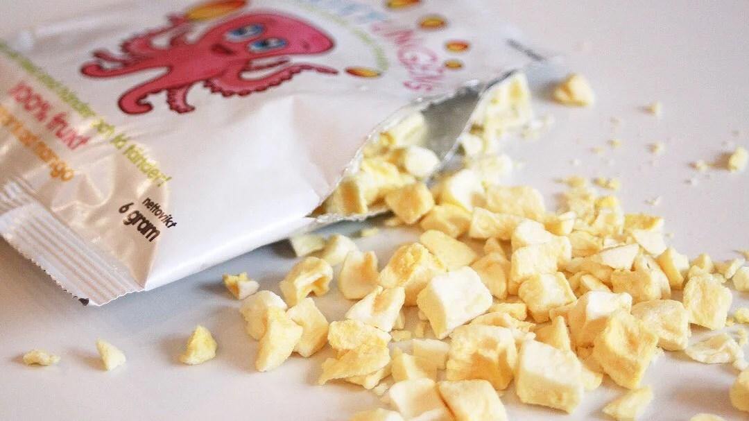 Frystorkad fruktmellis