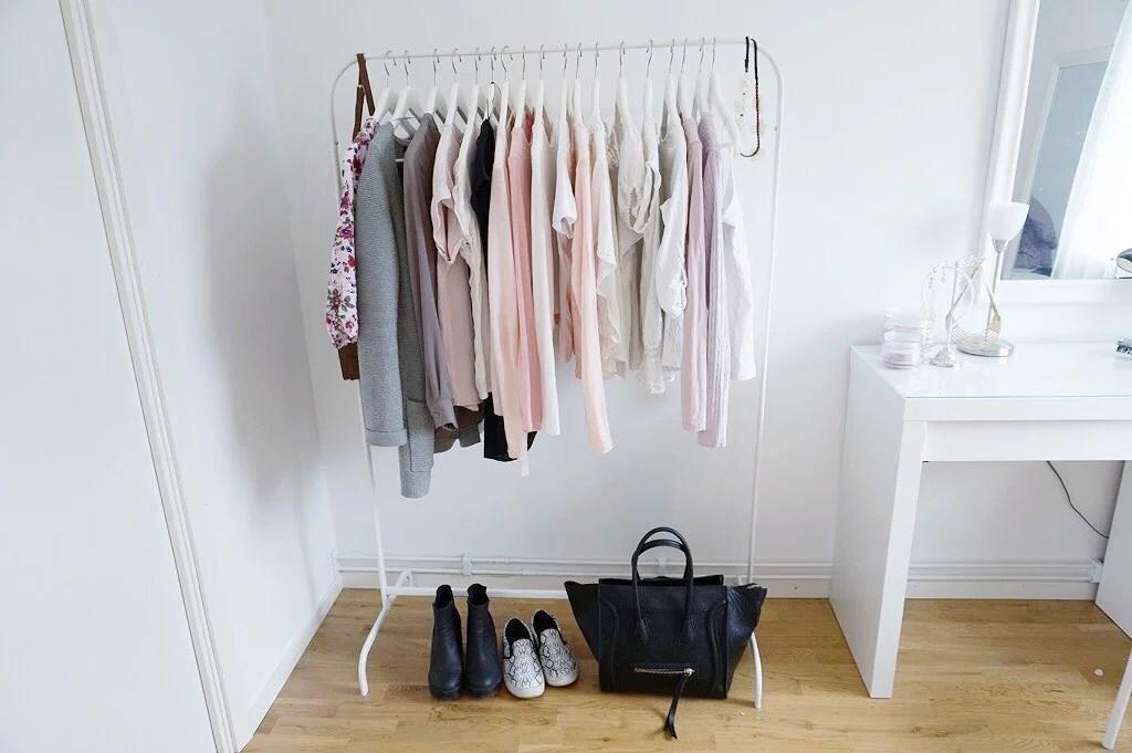 Vilka kläder hänger på min klädställning? cillaanderssonn