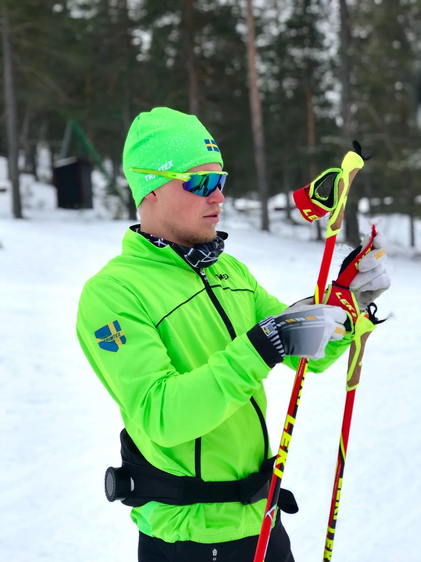 Snöstorm i Falun idag!