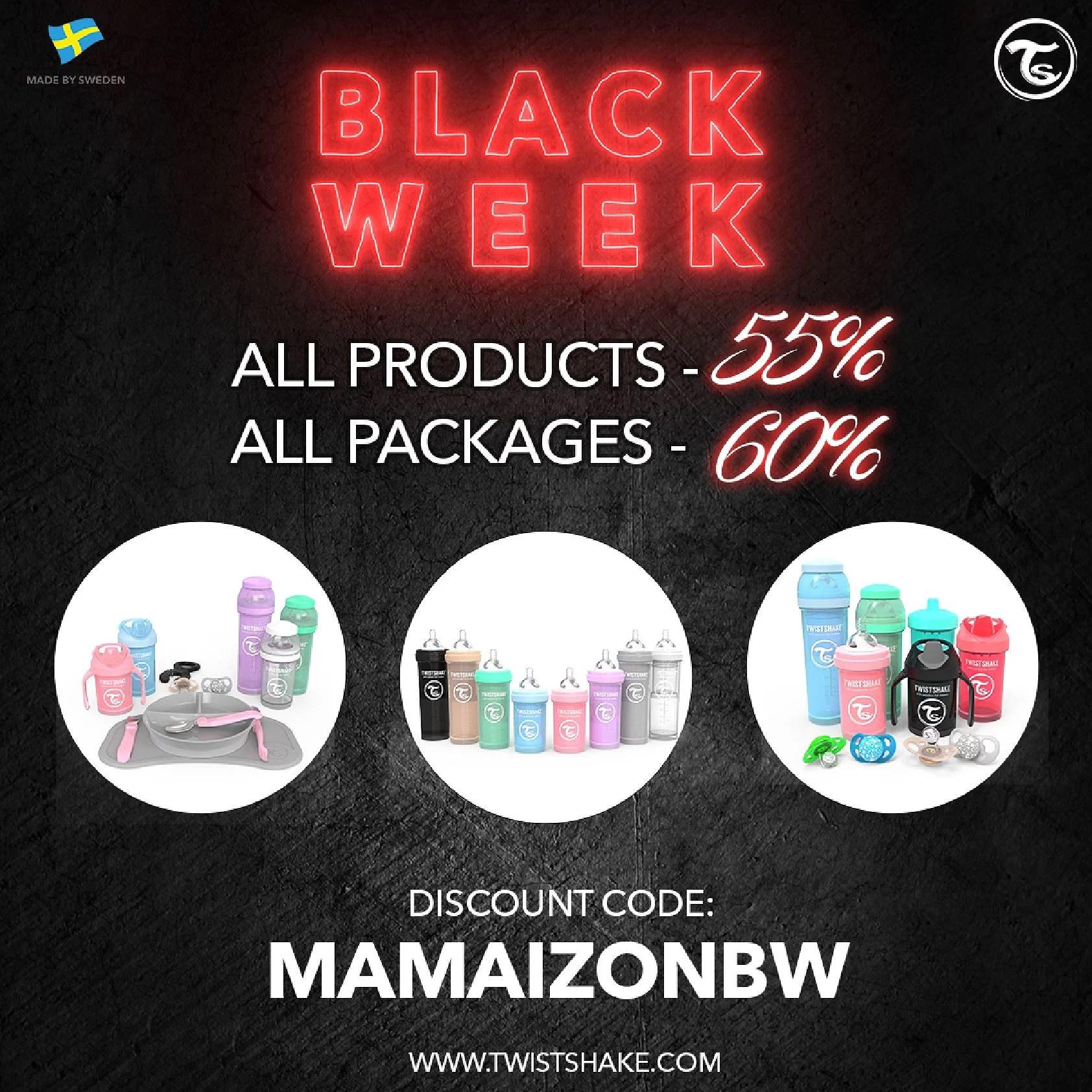 Upp till 60% rabatt - BlackWeek