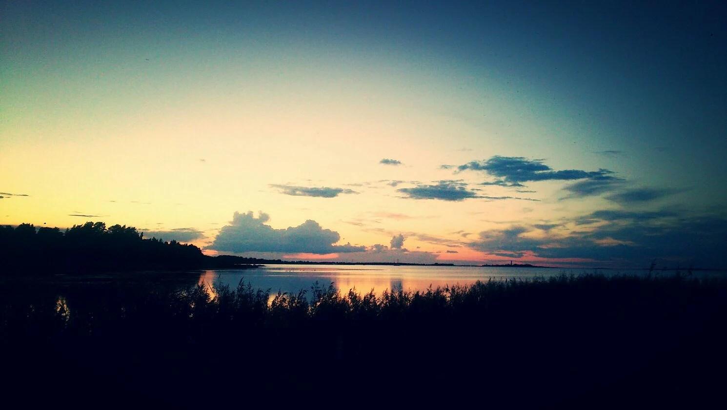 Grankullaviks solnedgång