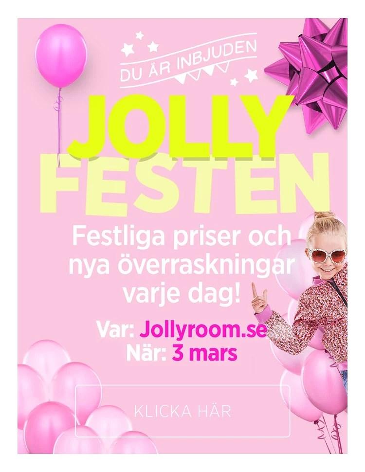 JOLLYFESTEN ÄR HÄR