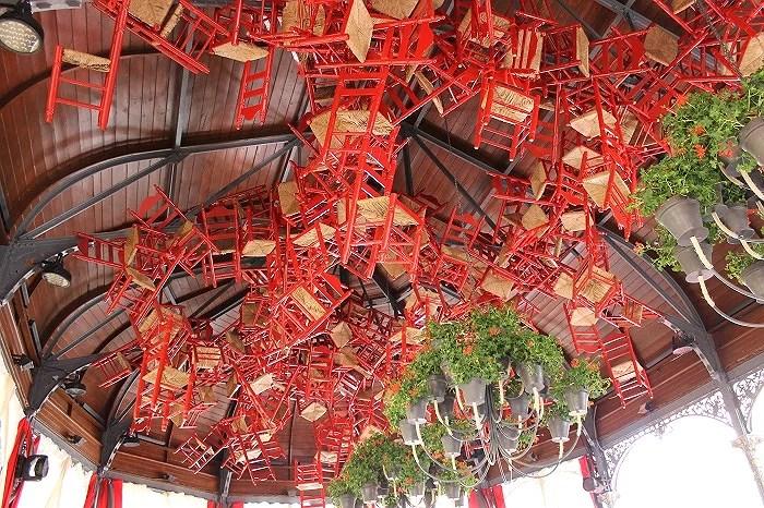 Originalidad de la caseta más famosa de la Feria de Jerez
