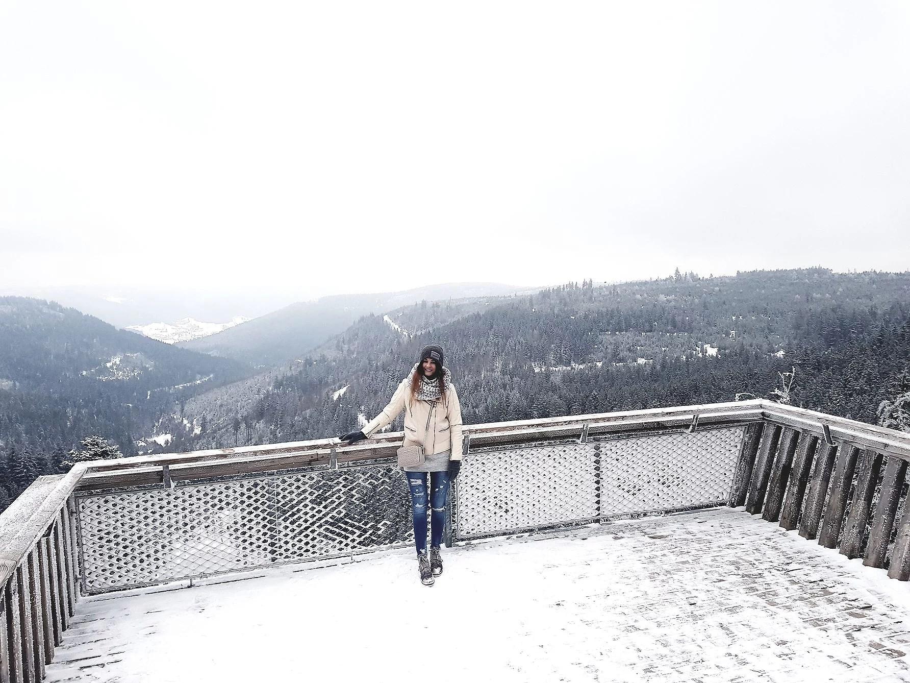 Ellbachsee Aussichtsplattform