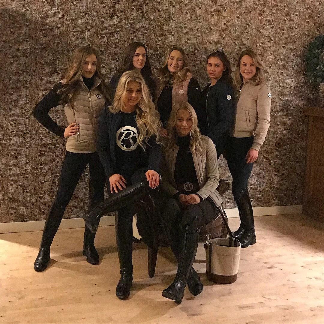Photoshoot och en kväll med PS teamet