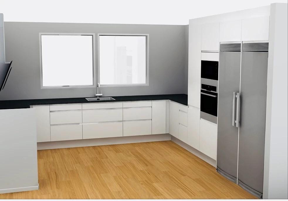 Det nya köket tar form!