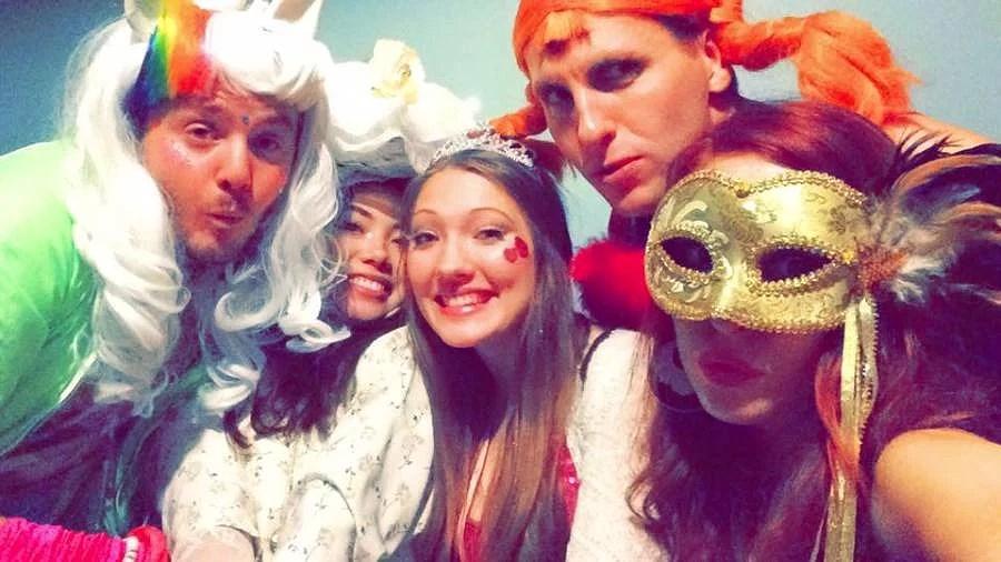 Halloween - Unicorns och annat