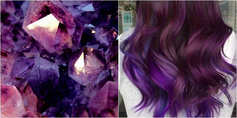 Hetaste hårtrenden – Geode Hair!