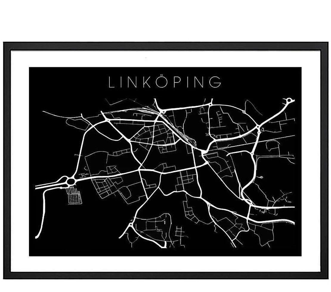 Linköping - Egen poster