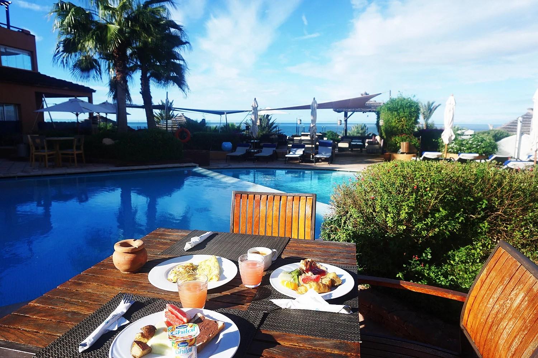paradis plage breakfast