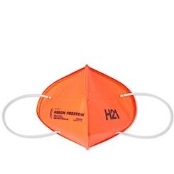 Heron Preston orange reusable mask
