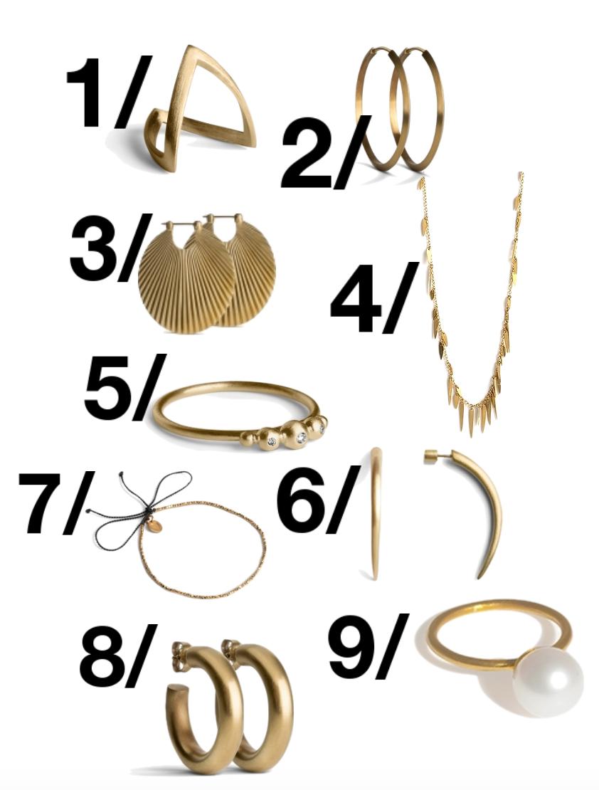 Mine yndlings smykker til galla