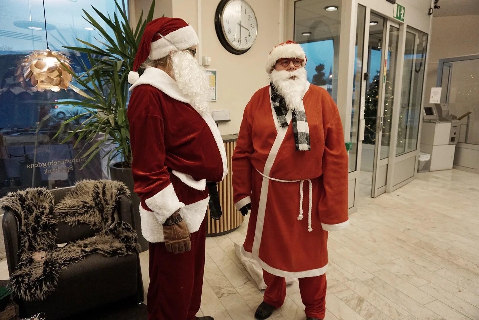 Julskyltning i Bjärnum!