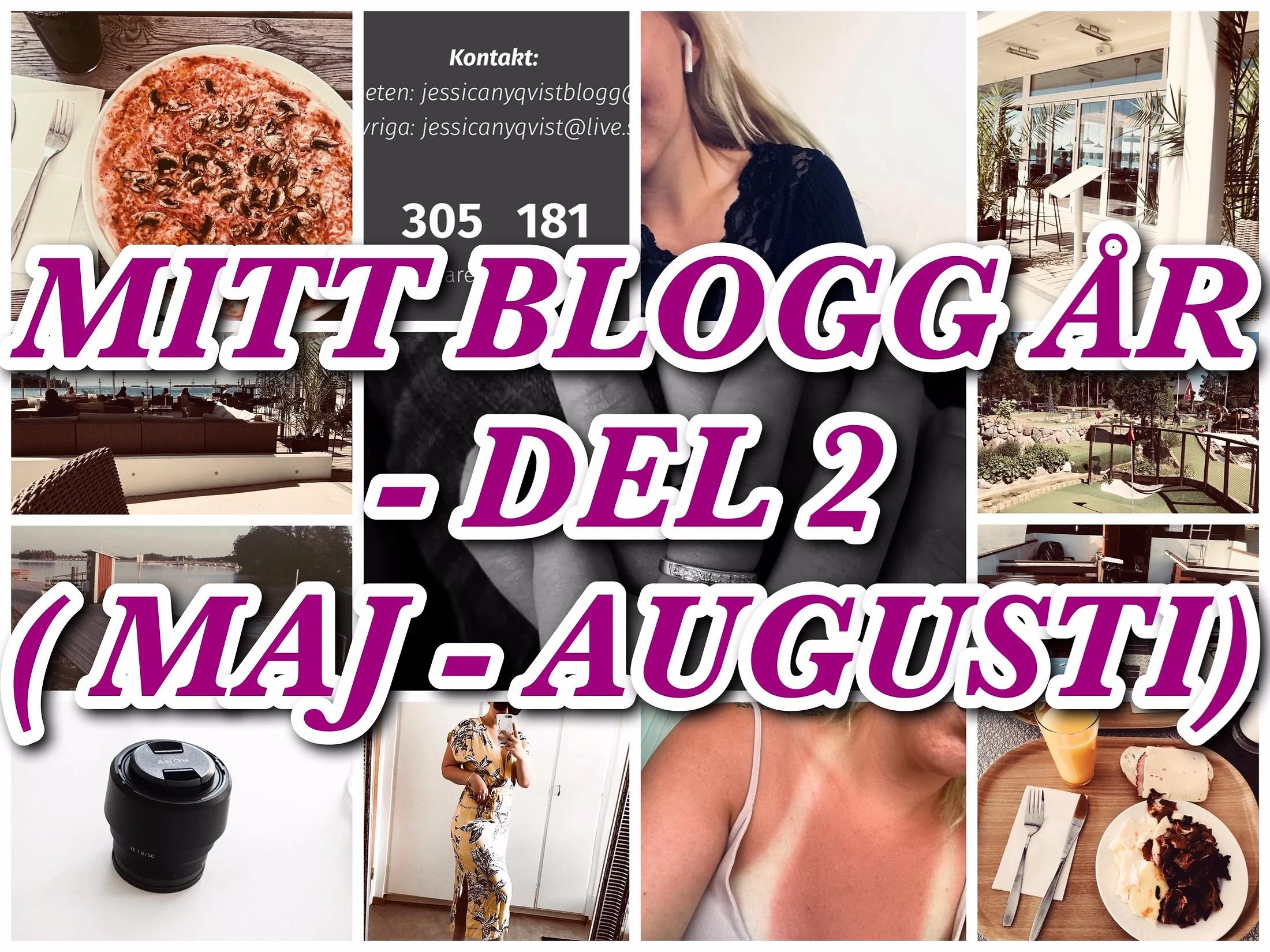 MITT BLOGG ÅR 2018 - DEL 2 (Maj-Augusti)