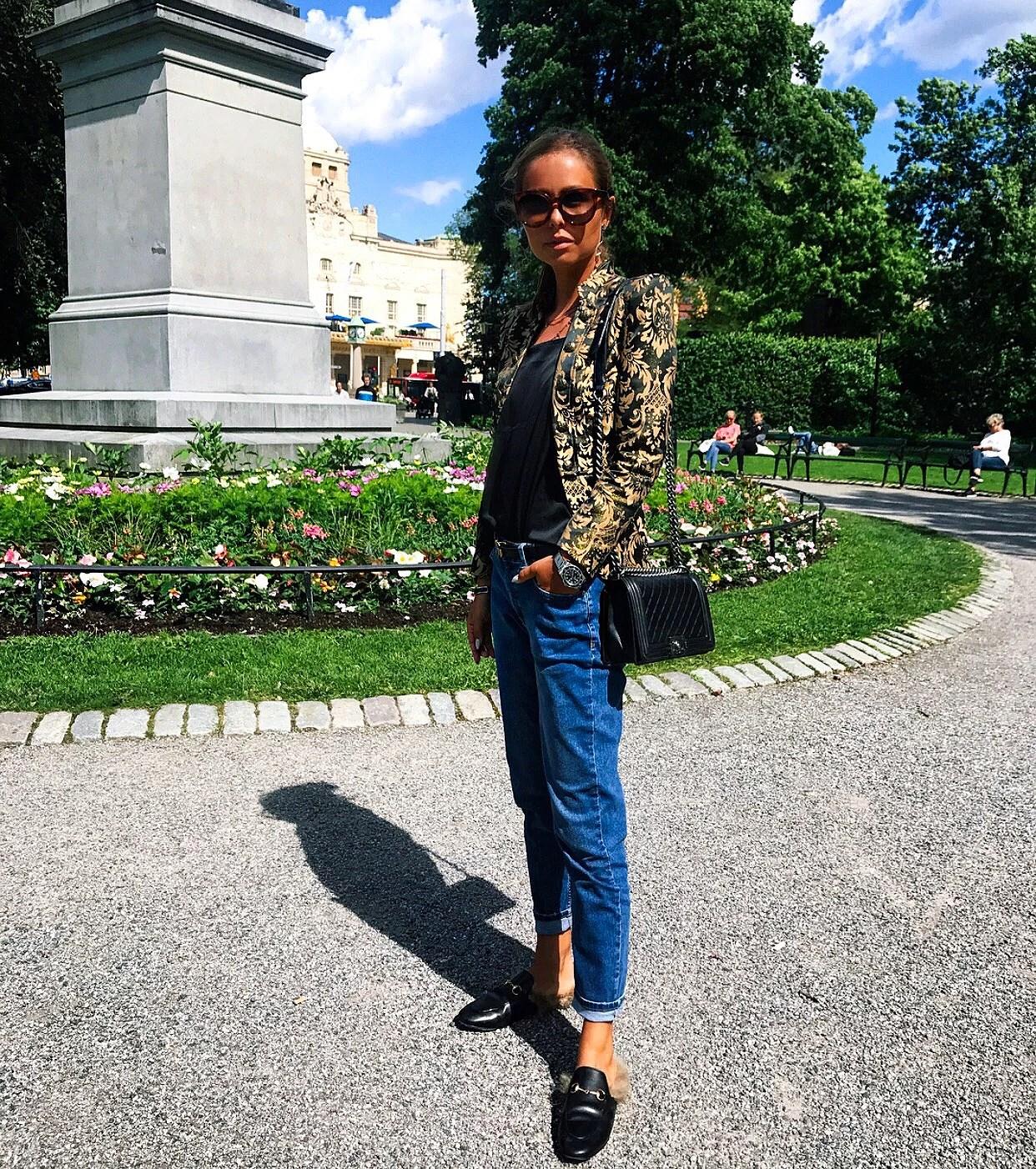 ARRIVED IN STOCKHOLM