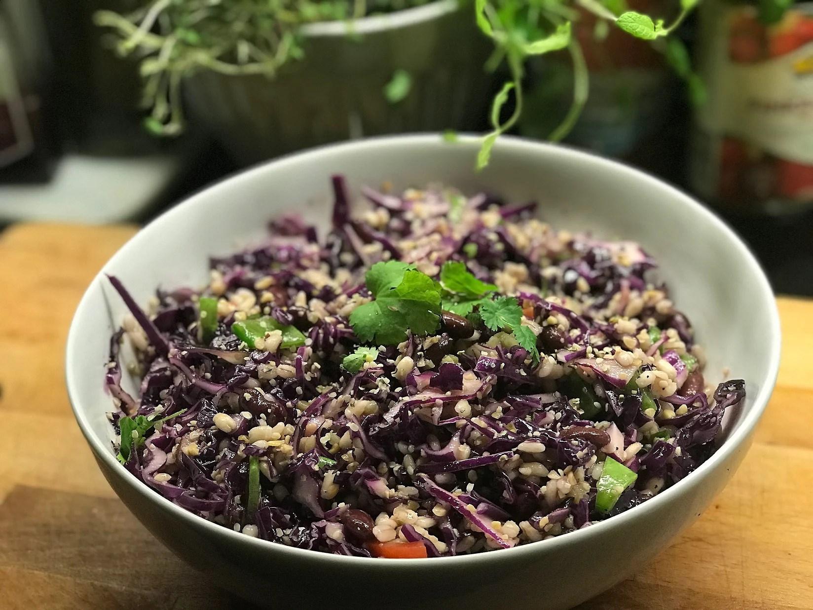 Tidig morgon och sen lunch (vegan recept)