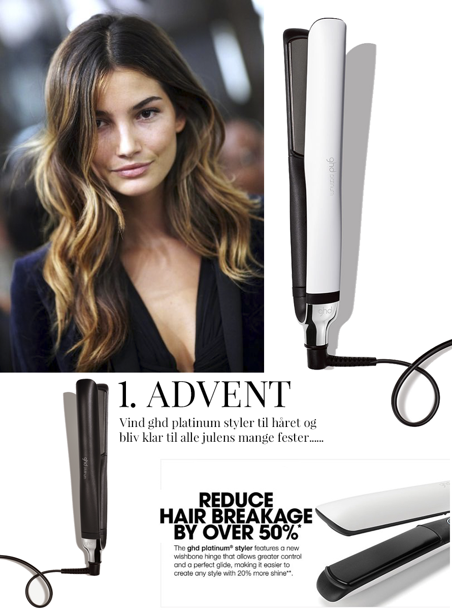 1. ADVENT - VIND GHD PLATINUM STYLER