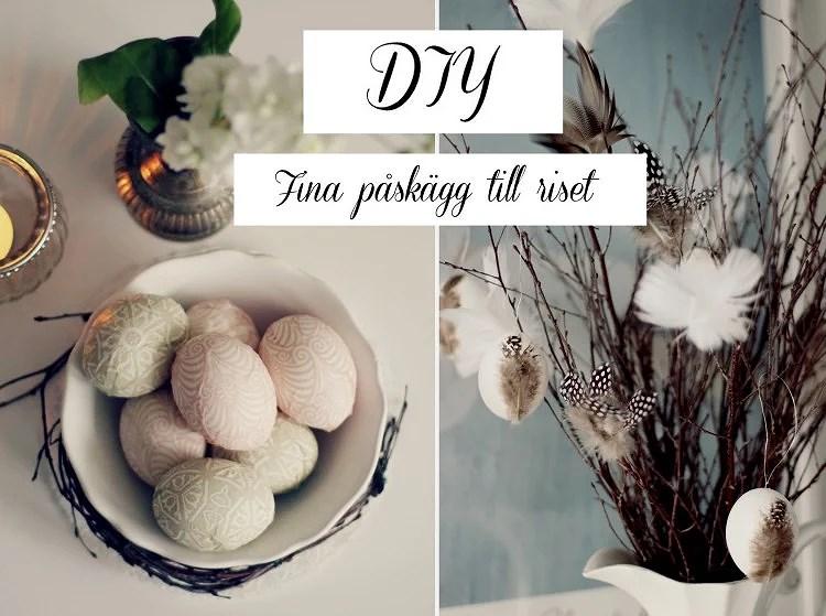 DIY: PÅSKPYSSEL