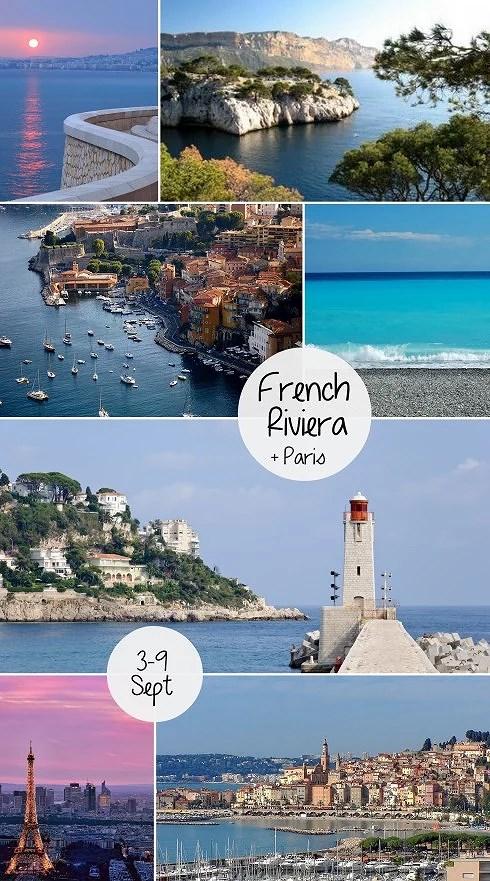 FRENCH RIVIERA + PARIS
