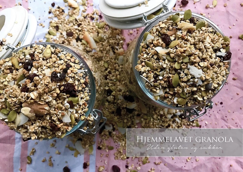 Opskrift: Glutenfri og sukkerfri granola