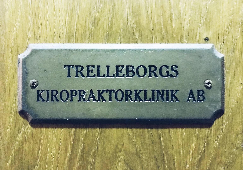 Kiropraktor Trelleborg!