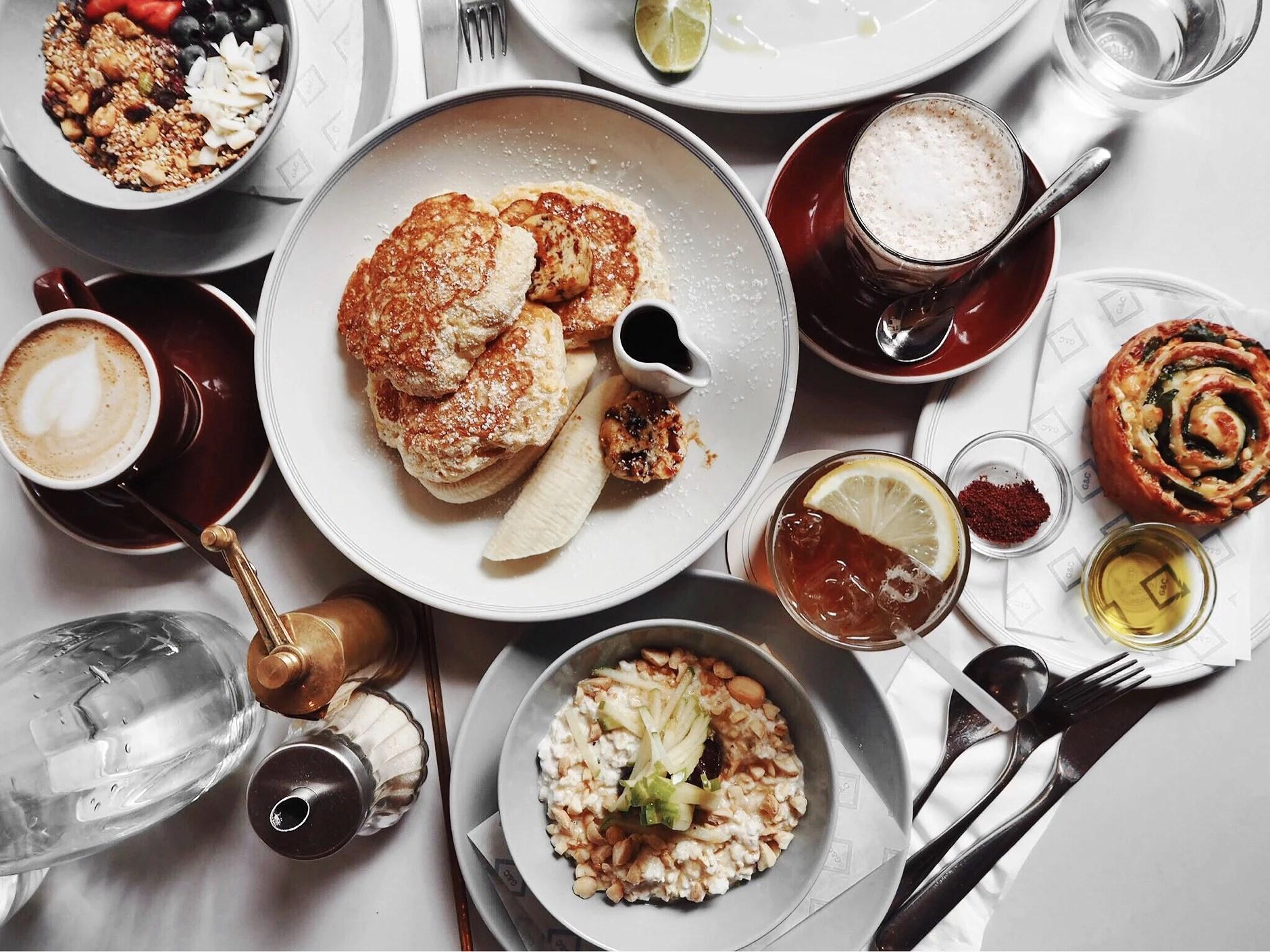 Frukost i London