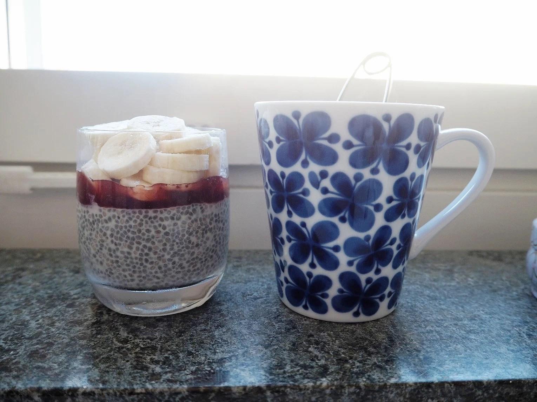 fin(...) morgonfrukost