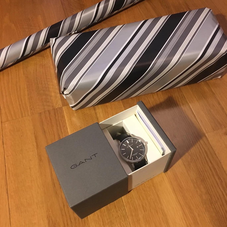 Klockan jag gav honom i julklapp