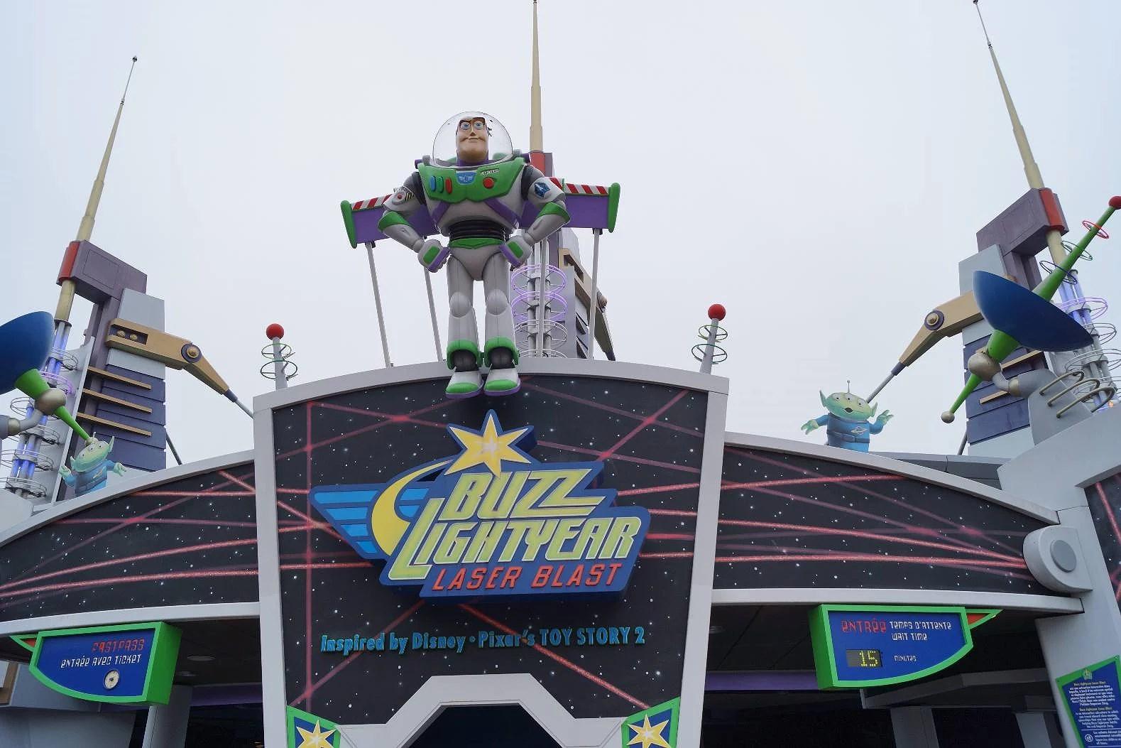 Attraktioner på Disneyland Paris: Buzz Lightyears Laser Blast